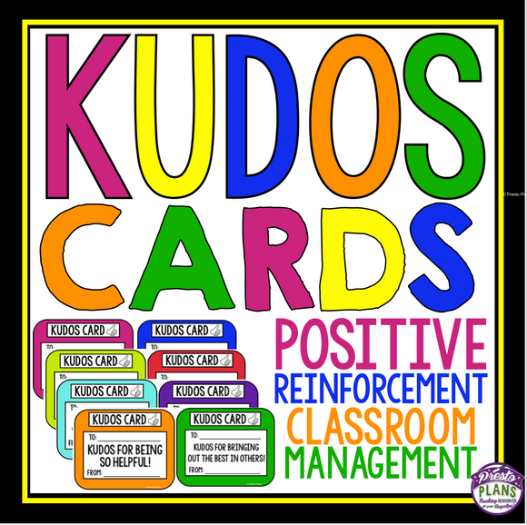 CLASSROOM MANAGEMENT: KUDOS REWARD SYSTEM