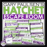 HATCHET ESCAPE ROOM NOVEL ACTIVITY
