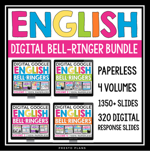 ENGLISH BELL RINGERS DIGITAL BUNDLE (USED WITH GOOGLE DRIVE)