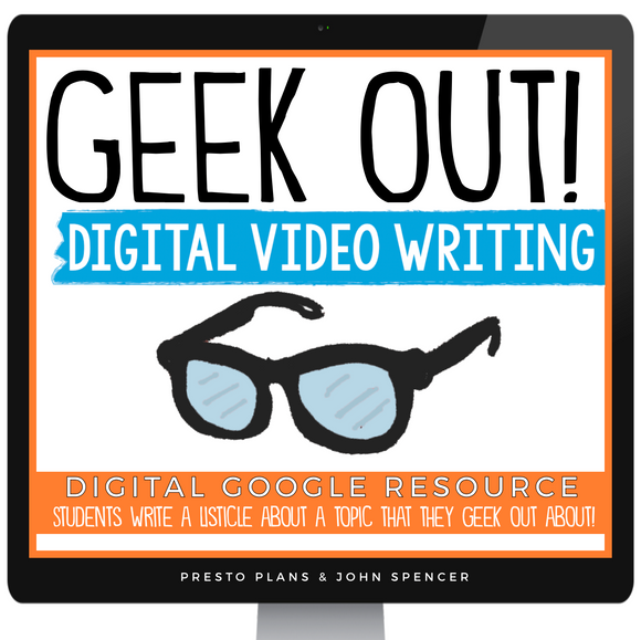 DIGITAL CREATIVE WRITING VIDEO ASSIGNMENT - GEEK OUT GOOGLE | DISTANCE LEARNING