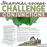COORDINATING CONJUNCTIONS GRAMMAR ACTIVITY INTERACTIVE ESCAPE CHALLENGE