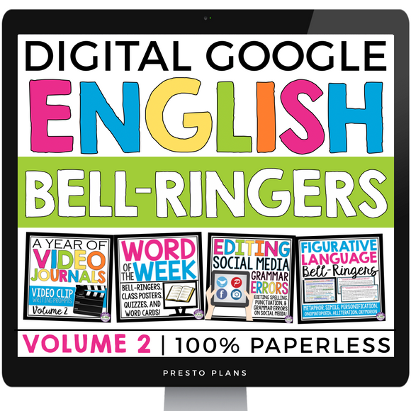 DIGITAL ENGLISH BELL RINGERS (VOL 2): PAPERLESS VERSION (USE WITH GOOGLE DRIVE)