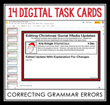 DIGITAL CHRISTMAS GRAMMAR ACTIVITY | DISTANCE LEARNING