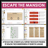 DIGITAL FIGURATIVE LANGUAGE ESCAPE ROOM BUNDLE GOOGLE | DISTANCE LEARNING