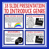 GIVER GENRE PRESENTATION: DYSTOPIA SCIENCE FICTION