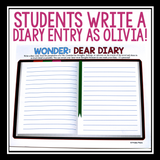 WONDER BY R.J. PALACIO ASSIGNMENT - VIA'S DIARY