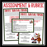 CHRISTMAS WRITING ACTIVITY: SANTA MANUAL