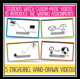 CREATIVE WRITING VIDEO BUNDLE
