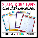 BACK TO SCHOOL ACTIVITY: STUDENTS DESIGN APPS ABOUT THEMSELVES