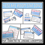 WONDER ESCAPE ROOM NOVEL ACTIVITY