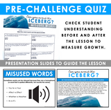 MISUSED WORDS GRAMMAR ACTIVITY INTERACTIVE ESCAPE CHALLENGE