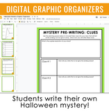 DIGITAL HALLOWEEN WRITING ACTIVITY - MYSTERY WRITING | GOOGLE DISTANCE LEARNING
