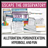 FIGURATIVE LANGUAGE ESCAPE ROOM BELL RINGER BUNDLE