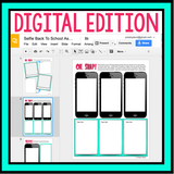 BACK TO SCHOOL ACTIVITY: SELFIE DIGITAL PAPERLESS GOOGLE DRIVE GOOGLE CLASSROOM