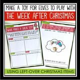 CHRISTMAS ACTIVITY: ELF TOY MAKING CHALLENGE