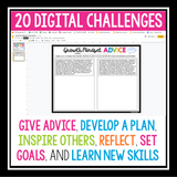 DIGITAL GROWTH MINDSET CHALLENGE ACTIVITIES | GOOGLE DISTANCE LEARNING