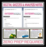 OUTSIDERS DIGITAL PAPERLESS UNIT PLAN (USE WITH GOOGLE DRIVE)