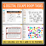 DIGITAL BACK TO SCHOOL ESCAPE ROOM: CLASSROOM FLOOR IS LAVA | DISTANCE LEARNING