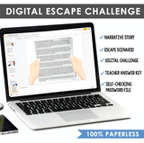 APOSTROPHES GRAMMAR ACTIVITY DIGITAL GOOGLE ESCAPE CHALLENGE | DISTANCE LEARNING