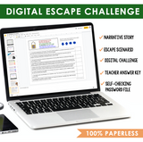 COLONS GRAMMAR ACTIVITY DIGITAL GOOGLE ESCAPE CHALLENGE | DISTANCE LEARNING