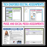 DIGITAL INFERENCE ACTIVITY BUNDLE GOOGLE | DISTANCE LEARNING