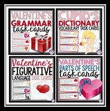 VALENTINE'S DAY GRAMMAR, PARTS OF SPEECH, FIGURATIVE LANGUAGE, VOCABULARY