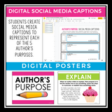 AUTHOR'S PURPOSE DIGITAL PRESENTATION & ASSIGNMENTS
