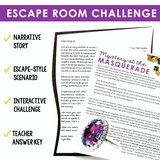 COMPLEX SENTENCES GRAMMAR ACTIVITY INTERACTIVE ESCAPE CHALLENGE