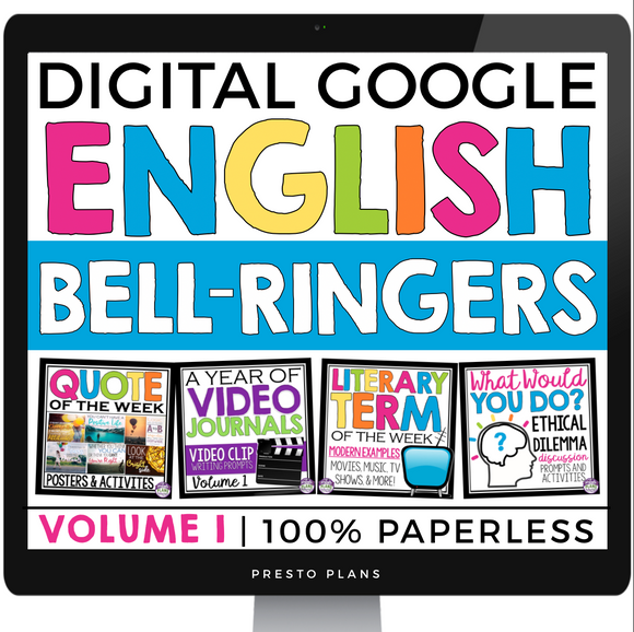 DIGITAL ENGLISH BELL RINGERS (VOL 1): PAPERLESS VERSION (USE WITH GOOGLE DRIVE)