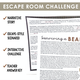 HOMOPHONES ITS VS. IT'S GRAMMAR ACTIVITY INTERACTIVE ESCAPE CHALLENGE