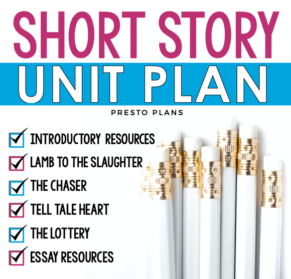SHORT STORY UNIT PLAN