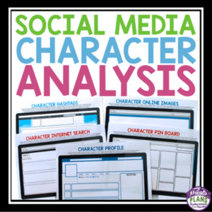 CHARACTER ANALYSIS SOCIAL MEDIA ASSIGNMENTS