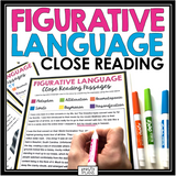 FIGURATIVE LANGUAGE CLOSE READING