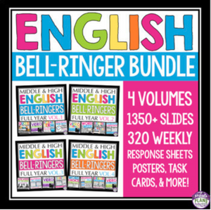 ENGLISH BELL RINGERS PRINT BUNDLE