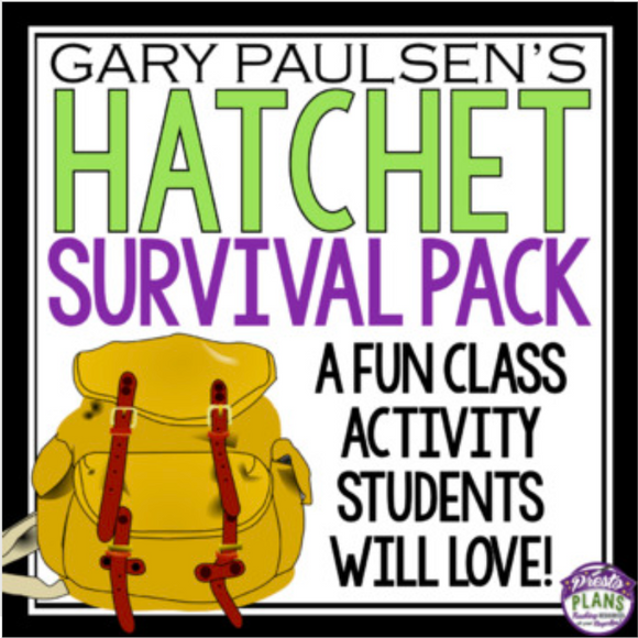 HATCHET ACTIVITY: SURVIVAL PACK