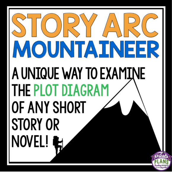 PLOT DIAGRAM ASSIGNMENT FOR ANY NOVEL OR SHORT STORY - MOUNTAIN CLIMBER