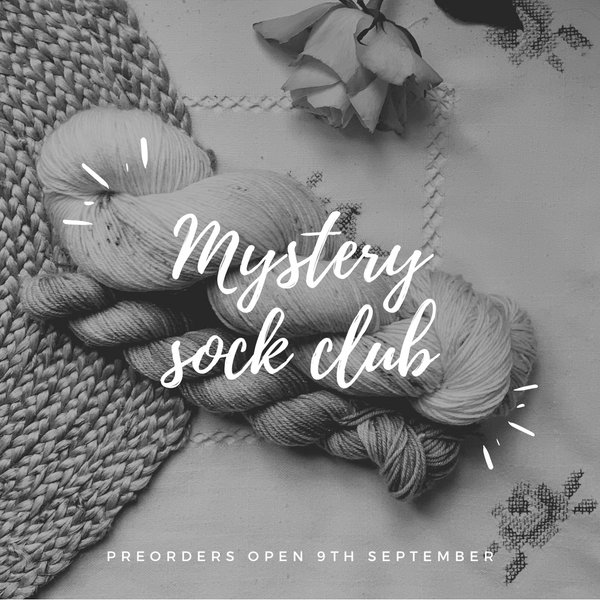 October 2020 Mystery sock club
