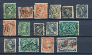 CANADA : Lot of 15 very old Stamps . Good used stamps High CV$420 A2056