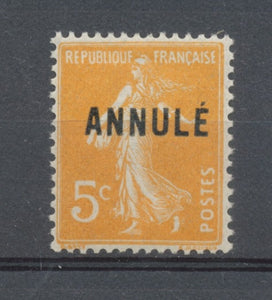 Cours D'instruction N°158CI 1 5c orange ANNULE Neuf luxe **  TTB M345