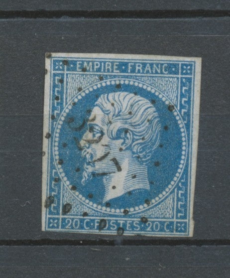 N°14 Petits Chiffres 3207 St Maurice-en-Gourgois TB. Rare indice 18 X5