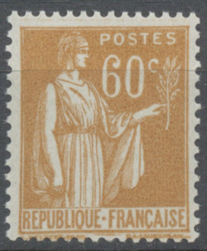 Type Paix. 60c. Bistre Neuf luxe ** Y364