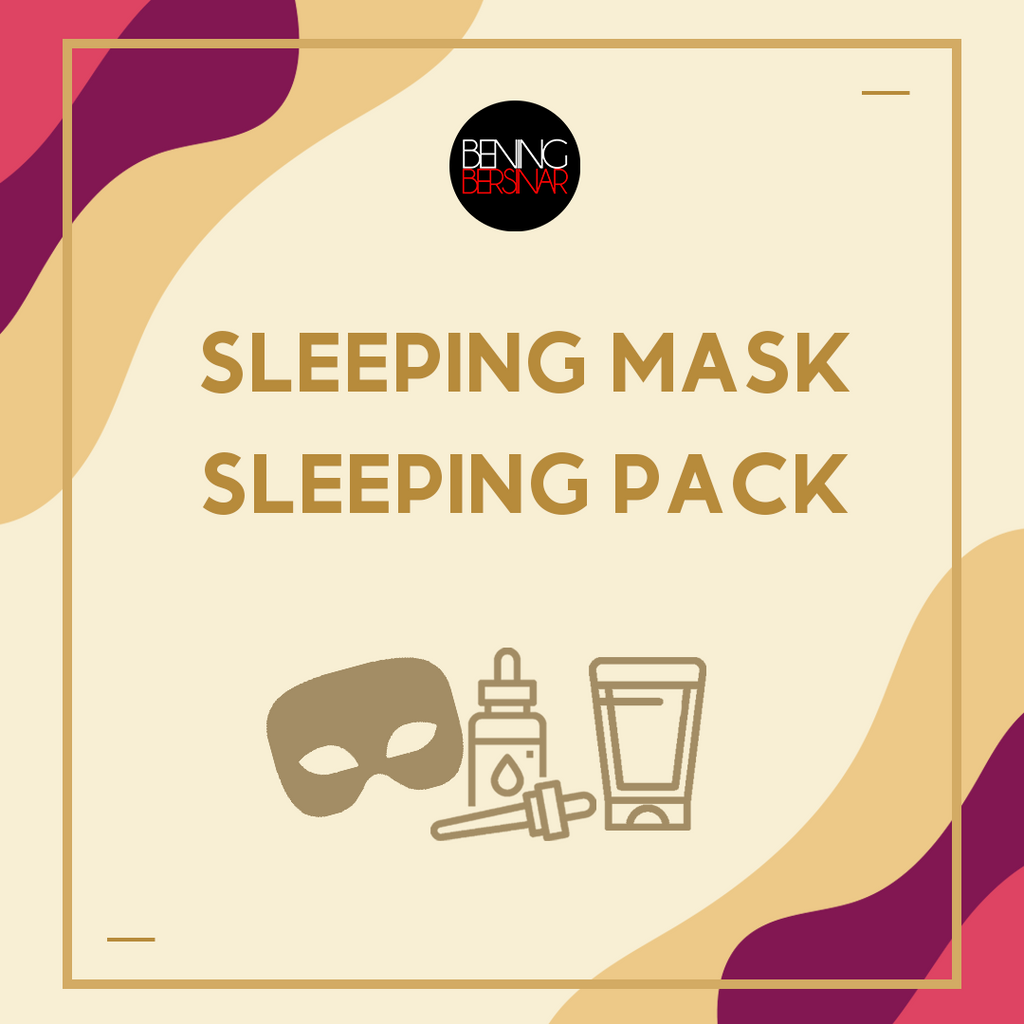 Sleeping Mask - Sleeping Pack - beningbersinar