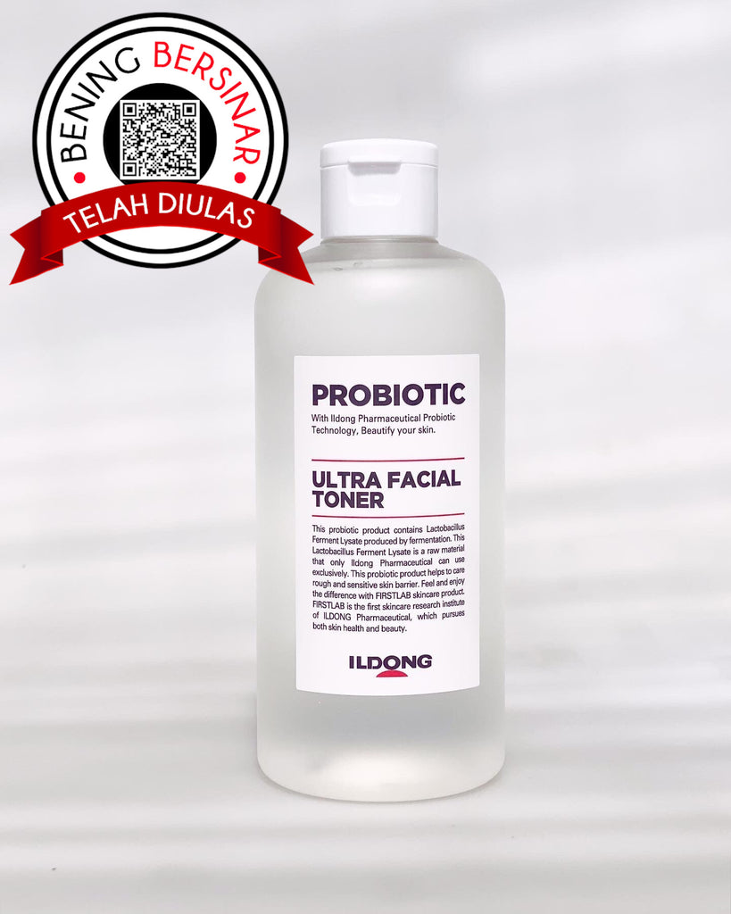 FIRST LAB Probiotic Ultra Facial Toner korea skincare - beningbersinar