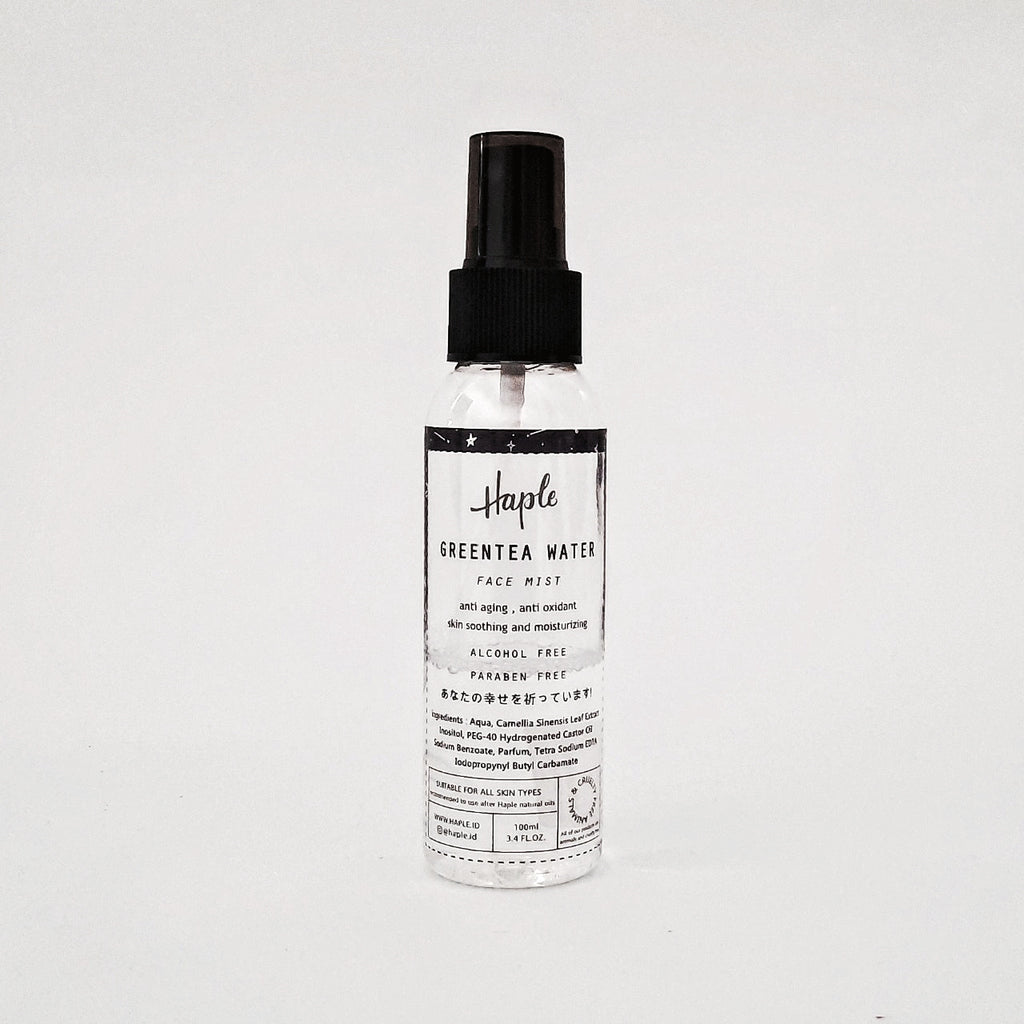 HAPLE Face Mist Greentea Water - beningbersinar