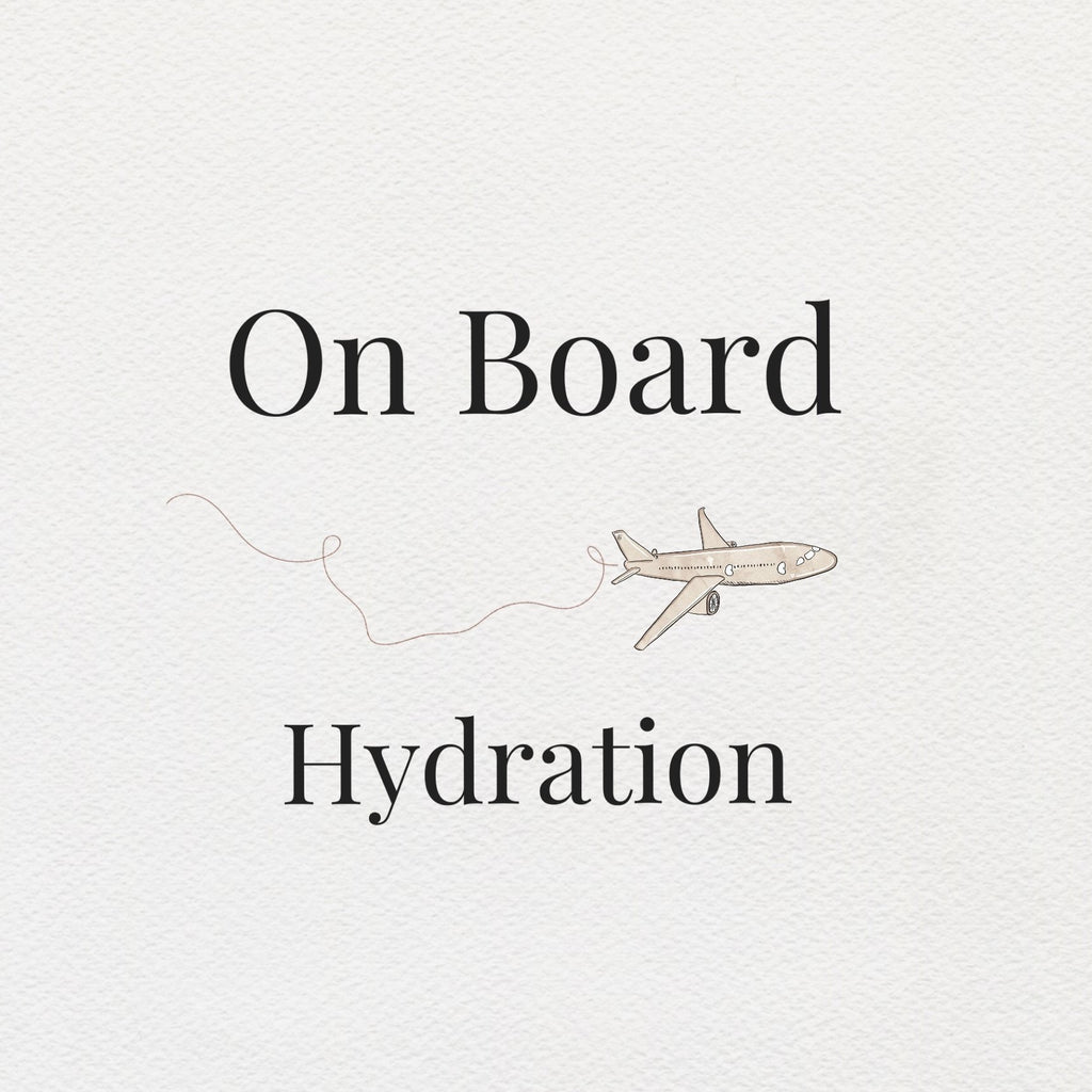 Infographic On Board Hydration - beningbersinar
