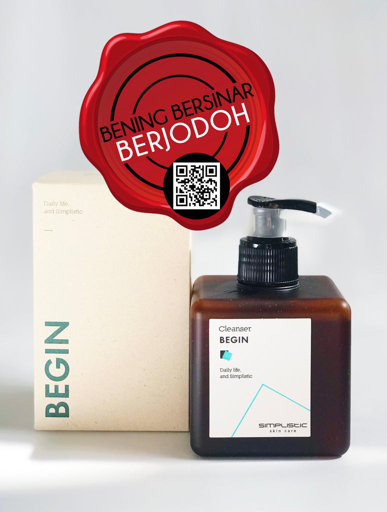 SIMPLISTIC Begin Cleanser - beningbersinar