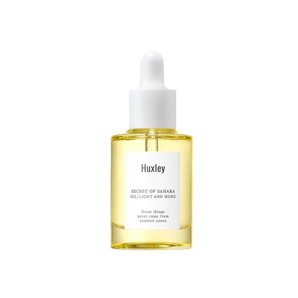 HUXLEY Oil: Light and More skincare korea - beningbersinar