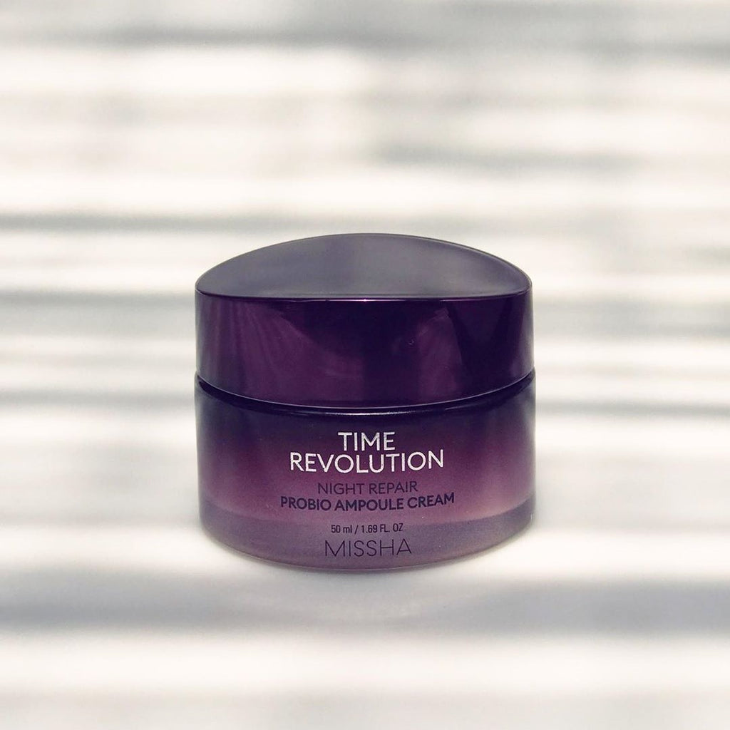MISSHA Time Revolution Night Repair Probio Ampoule Cream - BeningBersinar