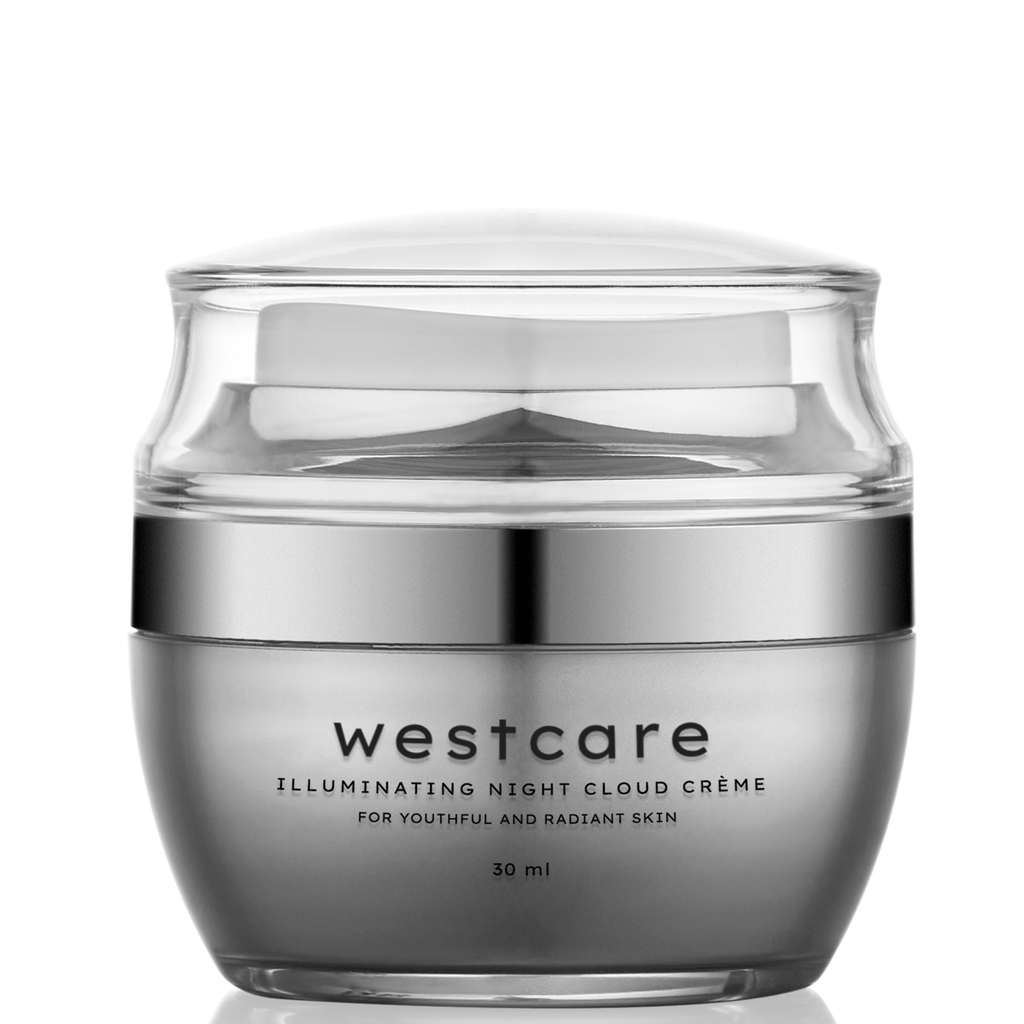 Westcare Illuminating Night Cloud Creme krim malam lokal - beningbersinar