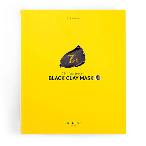 Barulab 7in1 Total Solution Black Clay Mask - beningbersinar